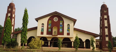 Kenstan Automatic Church Bell installation at St Gregory Catholic Church, Uli, Anambra State. Nigeria
